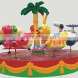 2013 hot sale mini playground carousel rides for sale