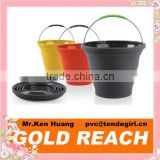 Popup Silicone Collapsible Bucket