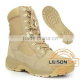 Military Tactical Boots made of waterproof nylon and cowhide leather combines with comfort and durability