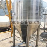 large beer brewery 2000L industrial brewery system with stainless steel unitank for sale
