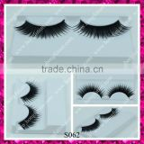 Wholesale false eyelashes synthetic hair material eyelash primer