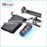 Adjustable External Lenses For Mobile Phone With Tripod And Case 8X Telephoto Optical Lens