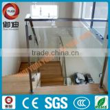 stainless steel interior glass railing systems for stair/staircase