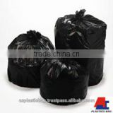Cheap Durable Recycle HDPE LDPE Black Customized Garbage Bags A&C Plastics Manufacture in Vietnam