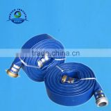 Blue color rubber lining fire hose 3'' 13bar