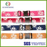 hot sale high quality elastic luggage strap, silicone luggage tag strap, luggage strap with plastic buckle