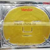 Mendior Newest Hot sale 24K gold facial mask crystal collagen face mask Wholesale and support OEM