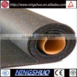 Trade Assurance high density rubber mat roll, noise reduction crossfit flooring