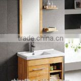 Factory Sale Wood Grain Wall Mounted Bathroom Cabinet With Sink                                                                                                         Supplier's Choice