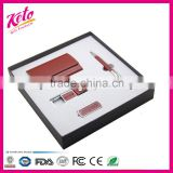 Corporate gift leather business office stationery gift set                                                                                                         Supplier's Choice