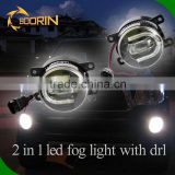 2016 New high bright daytime running light led drl fog light Led Auto Car Fog Lamp for cars