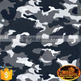 Excellent Quality Dazzle Graphic Black Army Camo Feature Hydrographic Film No.DGDAS0133 Camouflage Water Transfer Printing Film