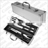 2016 wholesales Stainless steel professional BBQ tool set with case                                                                         Quality Choice