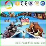 Commercial Theater Projectors 5D Cinema With Home Theater Sound System