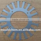 rotor stamping lamination for auto cooled machine