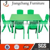 School Plastic Childrens Plastic Table And Chairs Set JC -ZYS02