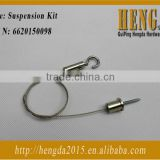 316 stainless steel wire rope supension kit Led