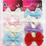 Colorful hair bows net set(approved by BV)                                                                         Quality Choice