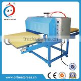 china manufacturers aluminum plate tshirt garment printing large format sublimation machine