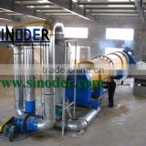 Provide cassava rotary dryer for drying cassava, coal, wood chips,sawdust, pellets, powder -- Sinoder Brand