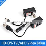 Video Power Transceiver Balun HDTVI Balun BNC UTP RJ45 Power Over CAT5/5E/6 Cable CCTV Balun