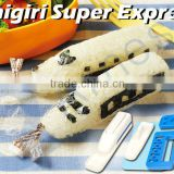 japanse lunch boxes rice ball molds set kid gift trains super express trains light products onigiri super express