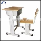 hot sale exquisite school desk and bench