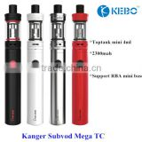 Kangertech Subvod starter kit hot selling original Kanger Subvod with SSOCC 0.5 Ohm coil