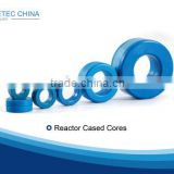 Nanocrystalline Toroidal Reactor Cased Cores Coated Cores