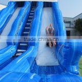 Factory price cheap gaint adult inflatable water slide for sale, china factory inflatable slide