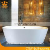 Inquiry about CRW DET014A/B Oval Small Freestanding Bathtub with Freestaind Faucet
