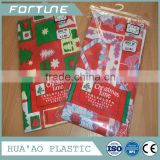 2016 HOT SALE PVC PLASTIC PRINTED TABLE COVER ROLL USED CHRISTMAS TABLECLOTH DECORATIVE INDOOR