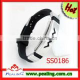 Fashion 316 L stainless steel bracelet health silicone bracelet