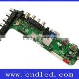 Universal Full HD 1080P TV Tuner Mother Main Board for eDP LCD Panel