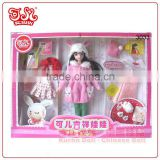 Wholesale Chinese dressed up fashion doll sell to Walmart directly