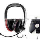 3.5mm Wired Gaming Headset With Adjustable Boom Microphone For XBOX One Wireless Controllers