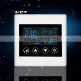 Good Quality IVOR 220V Central Air-Conditioner Thermostat Digital AC Thermostat Switch SK-AC2300L8 Ivory White PC Frame