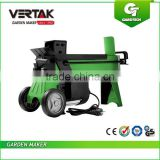 Vertak electric wood cutter log splitter, firewood splitting tools,hands free log splitter