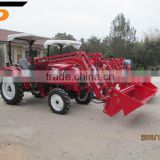direct manufacturer multi-purpose agricultural machine used front end loader farm tractor with ce