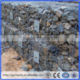 PVC coating after galvanising With Diaphragm/Divider Hexagonal Hole Gabion Baskets(Guangzhou Factory)