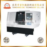 3 axis small CNC turning machine HXCNC-25F for sale with LNC controller