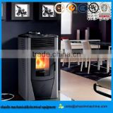 high efficient enviro pellet stove/ water heating pellet stoves/ 8kw wood pellet stove