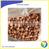 Well-adapted and high porosity Aquaculture lightweight clay pebbles(expnded clay ball ) Aquatic vegetable system