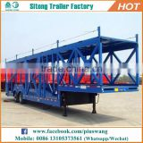 China manufacturer 3 axles vehicle carrier / car carrier transport semi trailer for sale
