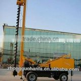 Big diameter drilling machines,11m depth pile drilling rig, HF360 piling drilling rig