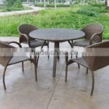 rattan outdoor table and chair or wicker dining set