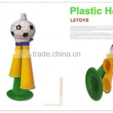 Plastic Horn for promotion,World Cup Soccer Cheering Trumpet cow horn