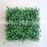 Artificial grass for garden as artificial boxwood mat wall and fence decoration in Guangzhou BOX011-1 GNW