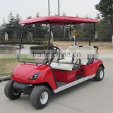 CE approved China made 4 seat battery powered electric aluminum golf cart ,4 Seater electric golf cart