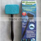 As seen on TV promo gift Microfiber cloth plastic long hand hold car windshield wash brush cleaner